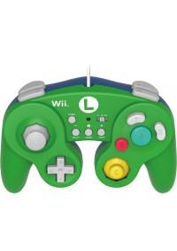 Manette Wii Wii U Wired Fight Battle Pad Classic Controller Pro / Wii, Wii U - Luigi