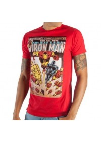 T-Shirt Marvel - Iron Man Comic Book Cover
