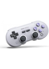 Manette 8Bitdo SN30 Pro Gamepad Bluetooth Grise Pour Switch, Android IOS, Windows, Steam Et Mac OS
