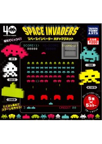 Gashapon Aimants Space Invader