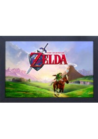 Affiche Encadrée The Legend Of Zelda - Ocarina Of Time Epona