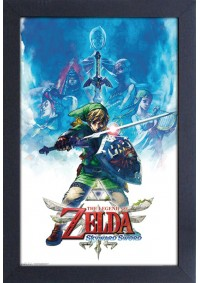 Affiche Encadrée The Legend Of Zelda - Skyward Sword