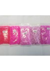 Kit Vraiiiiiment Économique de Perles à Fusionner - Assortiment Rose Cosmique