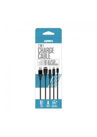 Cable De Recharge  Universel 7 In 1 Pour GBA SP, DS, DS Lite, 2DS, 3DS, XL, New 3DS Par Komodo