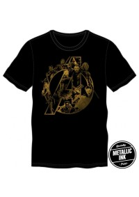 T-Shirt Marvel Avengers - Personnages