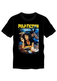 T-Shirt Pulp Fiction - Movie Cover
