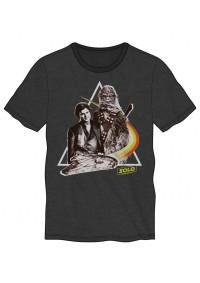 T-Shirt Star Wars - Han Solo et Chewbacca avec du Swag