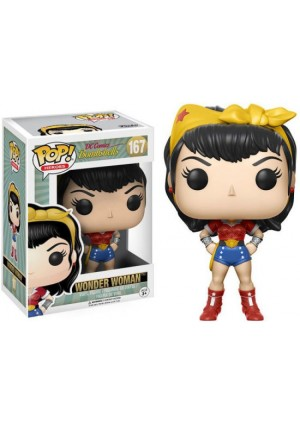 Figurine Funko Pop Heroes #167 DC Comics Bombshells - Wonder Woman