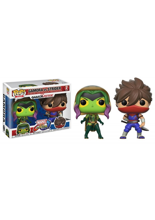 Figurines Funko Pop Games Marvel vs Capcom Infinite 2 Pack - Gamora vs Strider