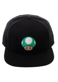 Casquette Ajustable Nintendo - Super Mario (Champignon Vert)