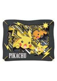 Kit Bricolage Paper Theater Pokemon - Évolutions Pikachu