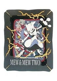 Kit Bricolage Paper Theater Pokemon - Mew & Mewtwo