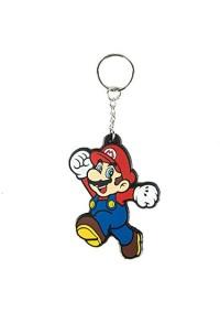 Porte-Clé en Caoutchouc Super Mario - Mario