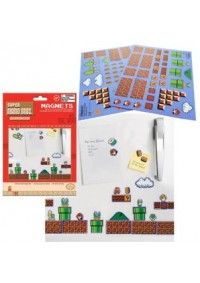 Ensemble de 80 Aimants Super Mario Bros. Collectors Edition