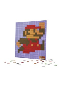 Ensemble d'Aimants Pixellisés Pixel Craft Super Mario Bros. Collectors Edition
