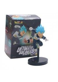 Figurine Dragon Ball Super Broly Ultimate Soldiers The Movie III - Super Saiyan Blue Vegeta par Banp