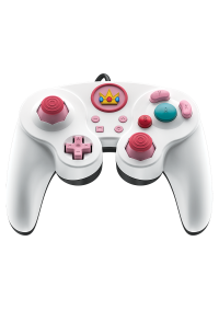 Manette Fight Pad Pro Avec Fil USB Pour Switch Par PDP - Peach