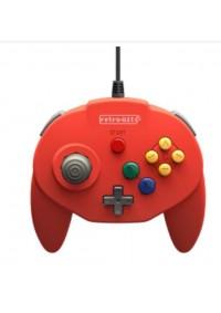 Manette Nintendo 64 Générique / N64 Tribute 64 Par Retro-Bit - Rouge