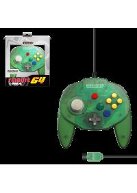 Manette Nintendo 64 Générique / N64 Tribute 64 Par Retro-Bit - Verte Transparente