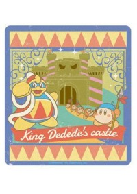 Autocollant Style Travel Sticker - Kirby King Dedede's Castle