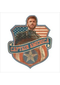 Autocollant Style Travel Sticker - Marvel Captain America