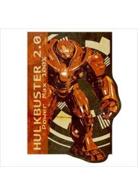 Autocollant Style Travel Sticker - Marvel HulkBuster 2.0 Power Max 100%