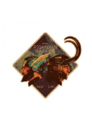 Autocollant Style Travel Sticker - Marvel Asgardian Warrior Thor & Loki