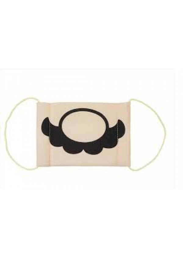 Masque en Gaze Moustache de Mario