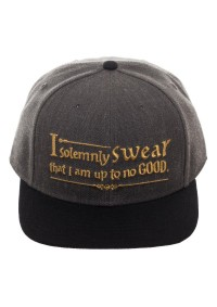 Casquette Ajustable Harry Potter - I Solemnly Swear That I am up to no Good