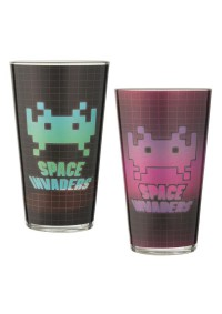 Ensemble de 2 Verres Space Invaders par Taito