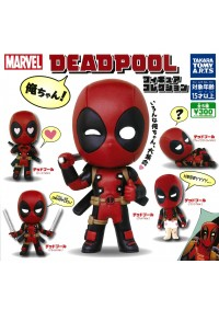 Figurine Gashapon Deadpool : Figure Collé