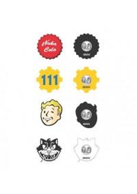 Épinglettes (Pins) Fallout - Paquet de 4