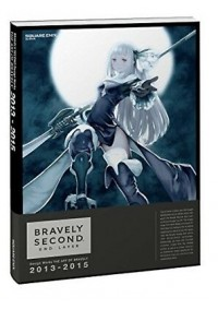 Artbook Bravely Second Design Works - The Art of Bravely 2013-2015
