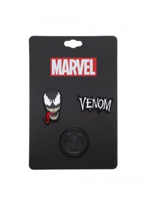 Épinglettes Marvel Venom - Kit de 3