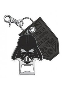 Porte-Clé Métallique Ouvre-Bouteille Star Wars - Darth Vader