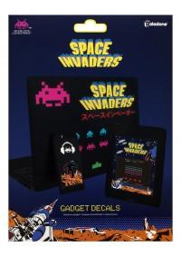 Ensemble d'Autocollants pour Téléphone Intelligent, Tablette ou Portable - Space Invader