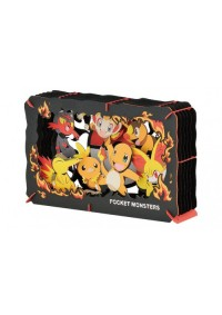 Kit Bricolage Paper Theater Pokemon - Starters Feu