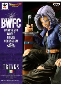 Figurine BWFC (Banpresto World Figure Colosseum) Dragon Ball Z - Future Trunks
