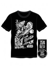T-Shirt Star Wars - Vaisseau Katakana