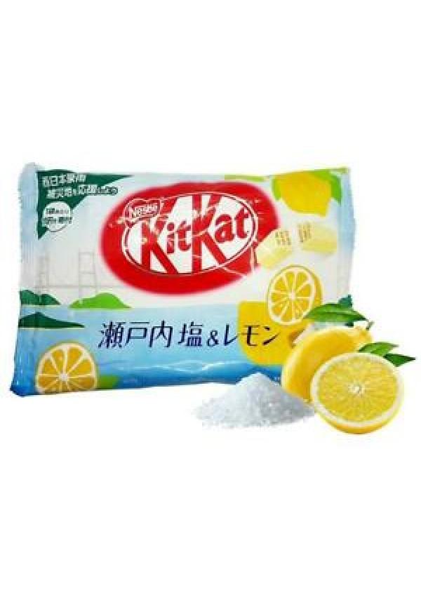 Chocolat Kit Kat Mini - Saveur Citron Salé