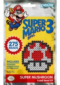 Kit d'activité Perler - Super Mario Bros. 3 : Super Champignon