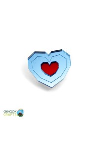 Épinglette (Pin) par Chinook Craft - Legend of Zelda Heart Container