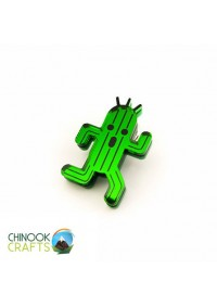 Épinglette (Pin) par Chinook Craft - Final Fantasy Cactuar