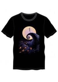 T-Shirt Étrange Noël De Mr. Jack - Lune