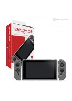 Etui Protecteur En Plastique Rigide Transparent Pour Console et Joy-con Switch par Hyperkin