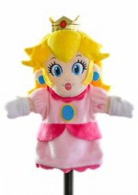 Marionnette Super Mario - Princess Peach