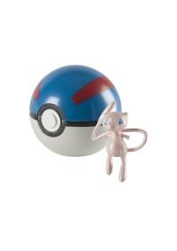 Figurine Et Pokeball 20e Anniversaire De Pokemon - 151 Mew