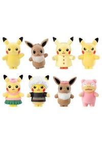 Mini-Figurine Poke-Mofu vol.3 Pikachu Dress