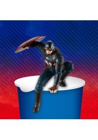 Figurine - Avengers: Endgame Captain America Noodle Stopper MARVEL Par FuRyu