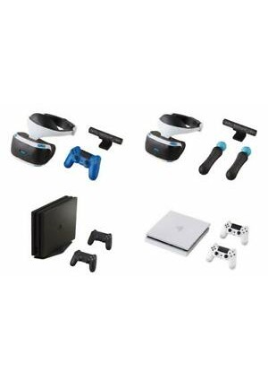 Gashapon Collection Miniature PS4 et PSVR